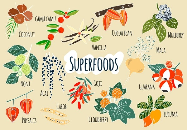 healthy superfoods list