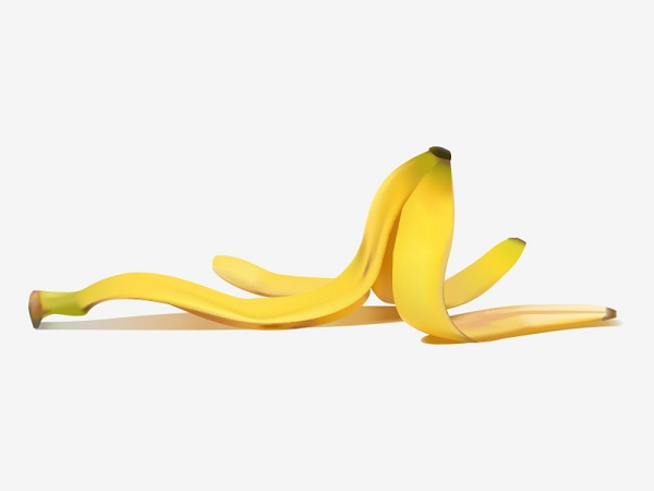 How much does one banana peel weigh - bananas