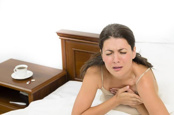 coffee Increase in heart disease risk factors